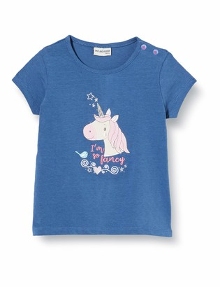Salt&Pepper Salt & Pepper Baby Girls' Mit Einhorn Stickerei Und Glitzersteinen T-Shirt
