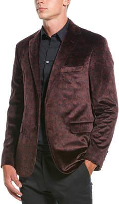 Robert Graham Barton Velvet Tailored Fit Sportscoat