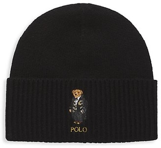 Polo Ralph Lauren Holiday Bear Wool Beanie