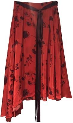 Preen Red Skirt for Women