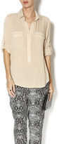 Bella Dahl Pocket Popover Top