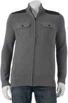 Apt. 9 Men's Modern-Fit 4-Pocket Full-Zip Sweater