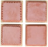 Delta Rubber Stampede Rubbery Stamp Set-Romantic Color Blocking Set Of 4