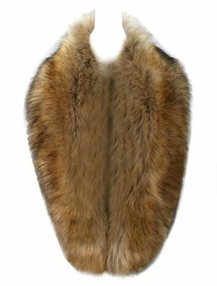 CASPAR STO001 Women Faux Fur Collar Soft Winter Scarf Elegant Wedding Party