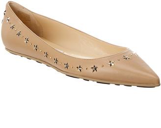 Jimmy Choo Windsor Leather Flat