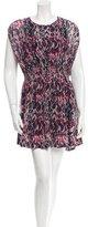 IRO Printed Mini Dress w/ Tags