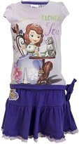Disney Sofia the First Princess Girls Top and Skirt Set Age 2 to 6 Years