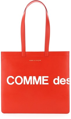 Comme des Garcons Huge Logo Tote Bag