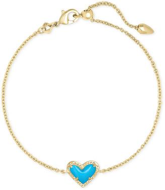 Kendra Scott Ari Heart Chain Bracelet