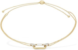 EÉRA Lucy 18kt Gold Choker W/ Diamonds