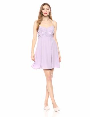 ASTR the Label Women's Ryder Fit & Flare Babydoll Sleeveless Short Dress