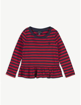 Ralph Lauren Peplum stripe t-shirt 2-16 years
