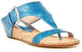 Donald J Pliner Doli Patent Wedge Sandal