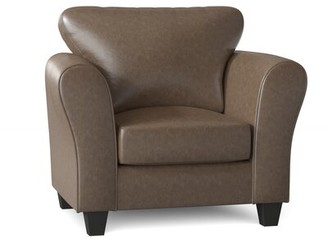 Three Posts Fredericktown Armchair Body Fabric: Stallion Tawny