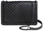 Mossimo Women's Faux Leather Crossbody Handbag with Magnetic Closure