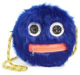 Capelli of New York Girl's Monster Bag - Blue