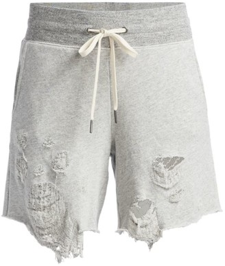 n:philanthropy Coco Distressed Shorts