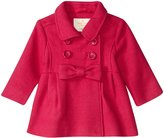 Kate Spade Fit & Flare Coat (Toddler/Kid) - Cabaret Pink - 4