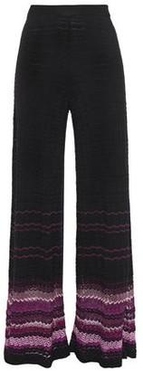 Camilla Crochet-knit Wide-leg Pants