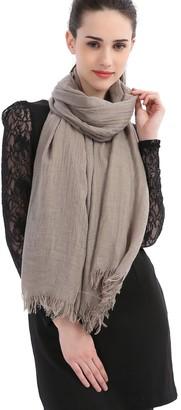 Kolumb Premium Women Extreme Soft Scarf Wrap Shawl For Any Season Super Size Rich Color Choice (Dark | Navy)