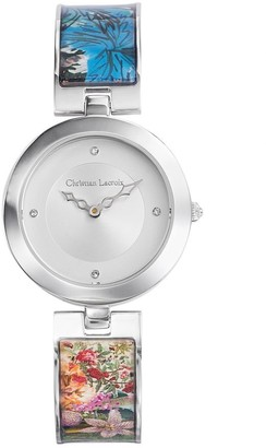 Christian Lacroix Womens Analogue Quartz Watch with Stainless Steel Strap CLWE28