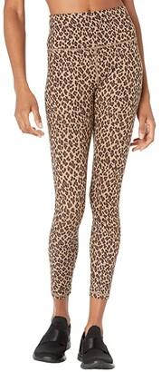 Varley Century Leggings 2.0 (Coffee Cheetah) Women's Casual Pants