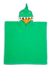 Sunnylife Kid's Cotton Crocodile Hooded Beach Towel