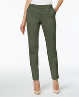 Style&Co. Style & Co Cuffed Slim-Leg Pants, Created for Macy's