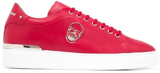 Philipp Plein Skull-Motif Low-Top Sneakers