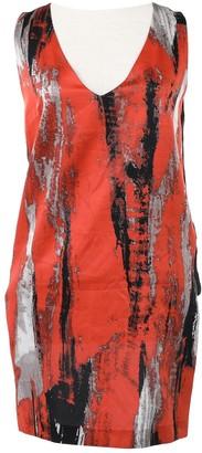 Robert Rodriguez Orange Silk Dresses