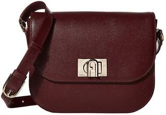 Furla 1927 Small Crossbody 23 (Burgundy) Handbags