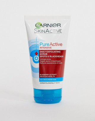 Garnier Pure Active Intensive Blackhead Exfoliating Face Scrub 150ml
