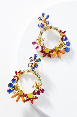 Elizabeth Cole Britt Hoop Earrings By in Gold