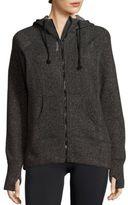 Reebok Cotton-Blend Long Sleeve Jacket