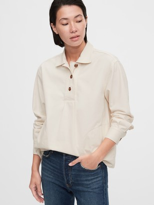 Gap Workforce Collection Popover Shirt