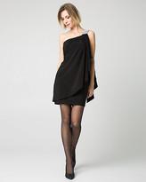 Le Château One-Shoulder Knit Cocktail Dress