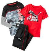 Puma Toddler Boys) 3-Piece Tee & Track Pants Set