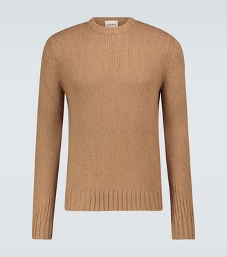 Rochas Camel hair crewneck sweater