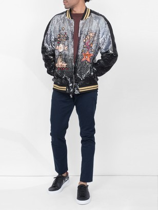 Valentino Sequined Bomber Jacket