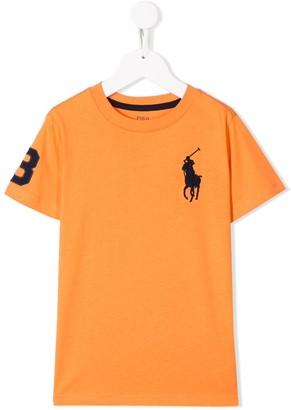 Ralph Lauren Kids logo detail T-shirt