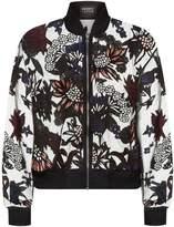Markus Lupfer Arctic Flowers Charlotte Bomber Jacket