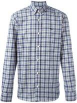 MAISON KITSUNÉ plaid button down shirt - men - Cotton - 41