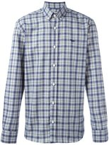 MAISON KITSUNÉ plaid button down shirt
