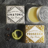 Bath House Prosecco And Gin And Tonic Lip Balm Duo