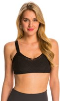 Beyond Yoga Quilted Mesh Lined Yoga Sports Bra 8141377