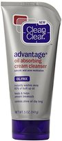 Clean & Clear Oil Absorbing Cleanser, 5 Oz