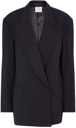 Vetements Open-Sleeve Blazer