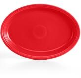 """Fiesta Scarlet 19"""" Oval Serving Platter"""