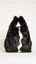 KENDALL + KYLIE Michelle Faux Fur Shopping Bag