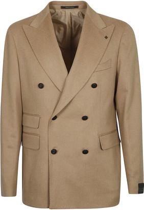 Tagliatore Multi-pocket Double-breasted Blazer